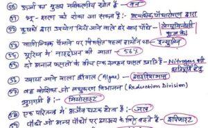 General Science Handwritten Notes PDF