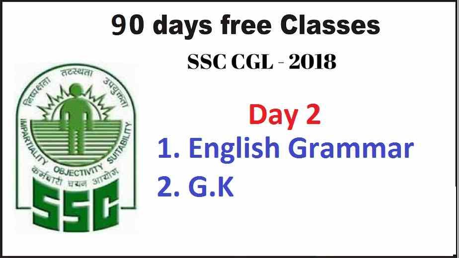 SSC CGL 2018 Crash Course