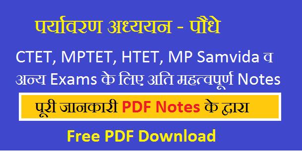 Environment Studies Notes in Hindi PDF