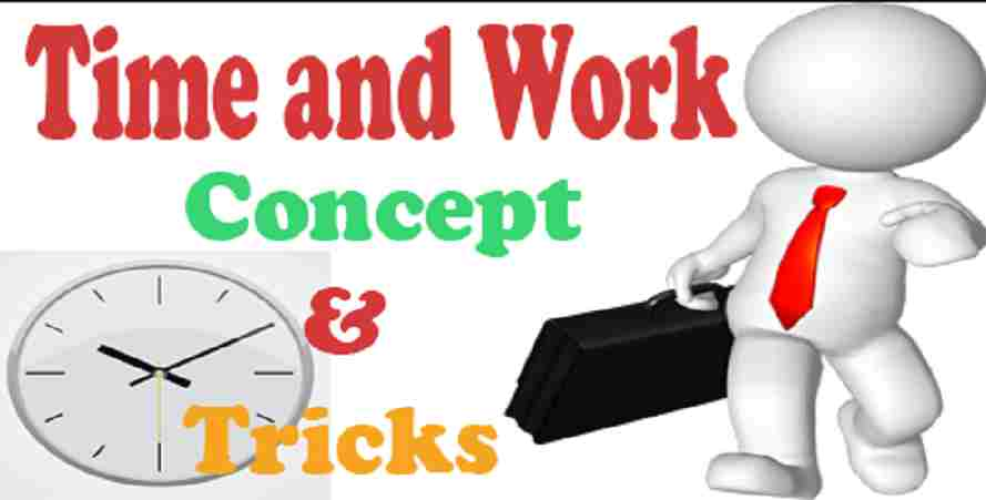 Time and Work Formula - SSC NOTES PDF
