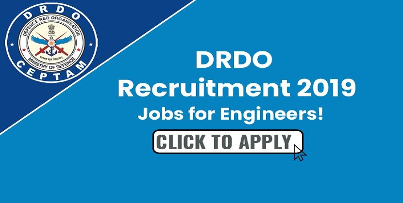 DRDO Recruitment 2019 Engineers