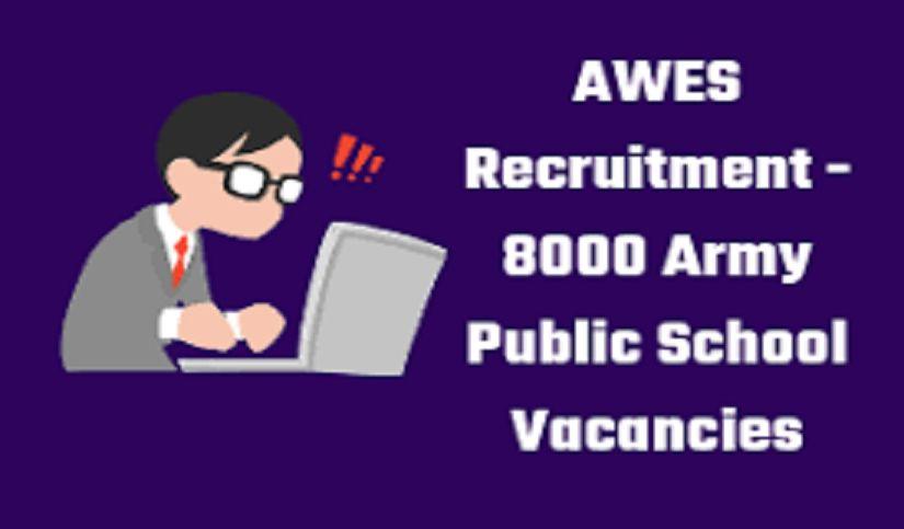 Army Public School Teacher Recruitment 2019