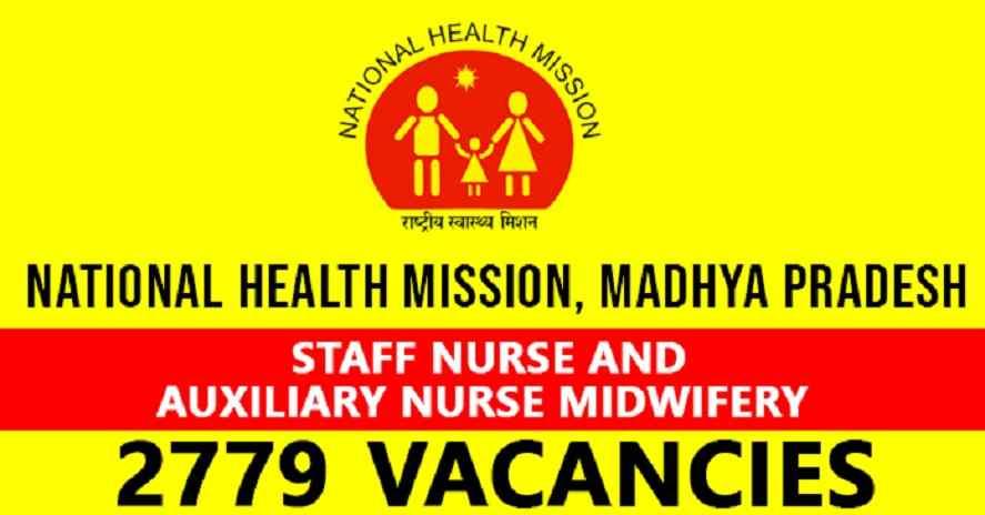 MP NHM Staff Nurse ANM Recruitment 2019