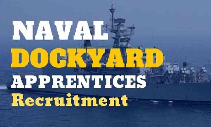 Naval Dockyard Apprentice Recruitment