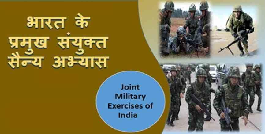 भारत के सैन्य अभ्यास 2019