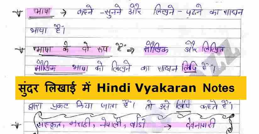 Hindi Grammar GK Questions