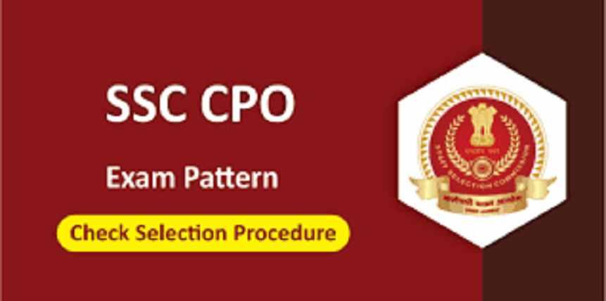 SSC CPO Exam Pattern