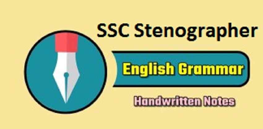 SSC Stenographer English