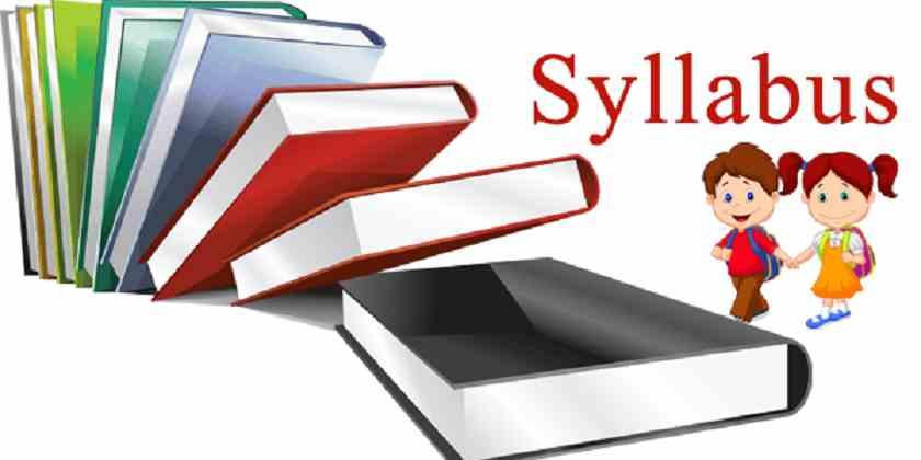 Syllabus of SSC GD