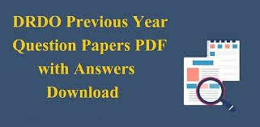 DRDO Previous Year Question Paper