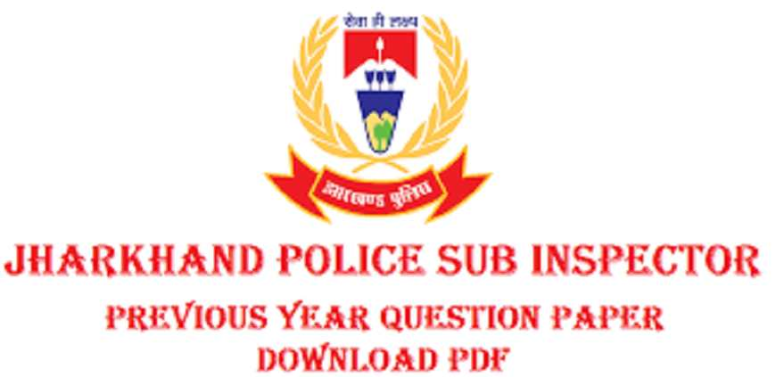 Jharkhand SI Previous year Question Paper