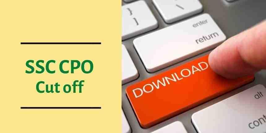 SSC CPO 2016 Cut Off