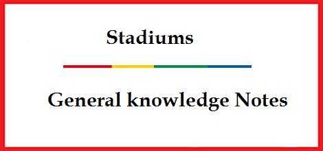 Stadiums in World