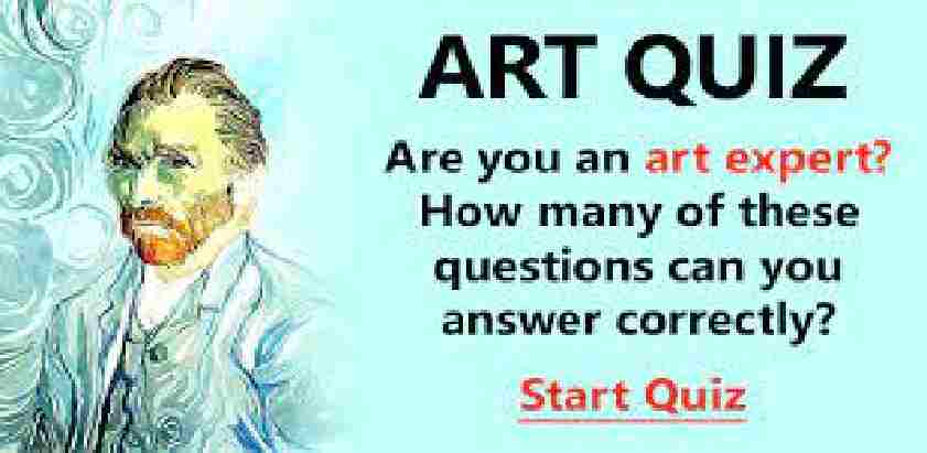 Arts Quiz Questions and Answers