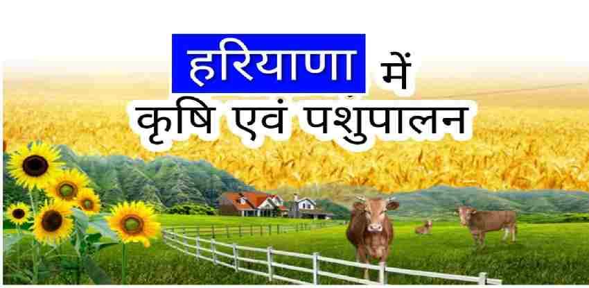 Haryana Agriculture GK
