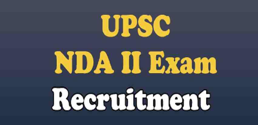 UPSC NDA II Recruitment Online Form